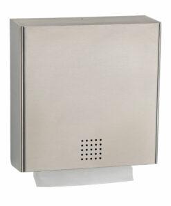Papierhandtuchspender Edelstahl matt Proox Pu-100