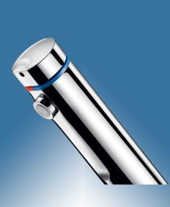 Selbstschluss-Mischbatterie Einhandmischer Delabie