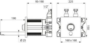 Selbstschluss-Mischbatterie_ADL-794BOX3-794250_Zeichnung