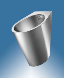 Urinal Edelstahl Design Delabie