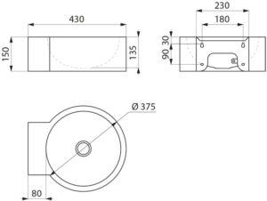 Waschbecken_REDO_ohne-Hahnloch_ADL-120710.2_Zeichnung