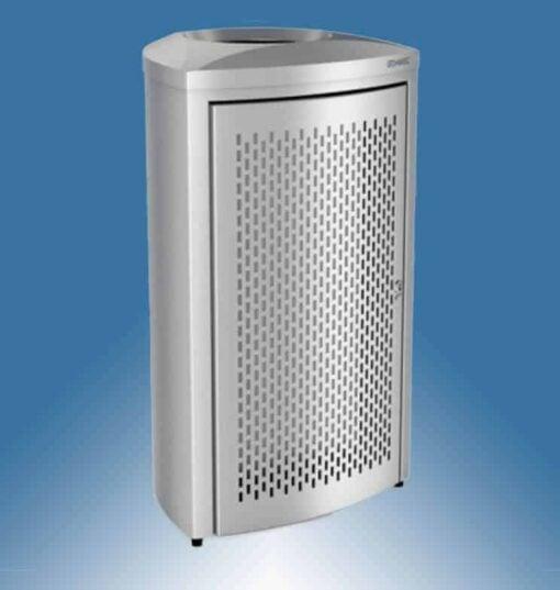 Abfallbehälter Edelstahl 130 Liter Armatron