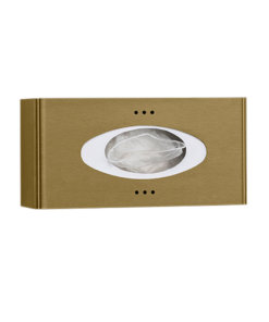 Hygienehandschuhspender Edelstahl BronzeProox